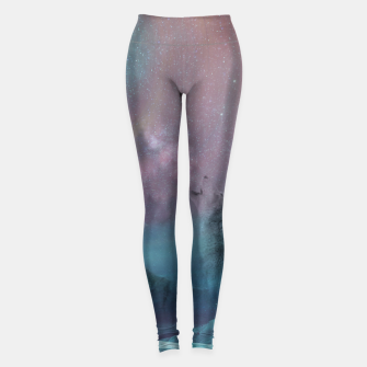 Thumbnail image of Howling at the moon Leggings, Live Heroes