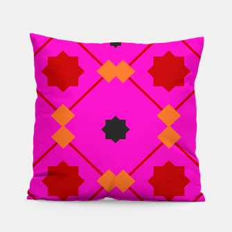 Miniatur Designers Ethno Pillow : MOROCCO PINK RED, Live Heroes