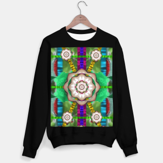 Miniatur pearl flowers in the glowing forest Sweater regular, Live Heroes