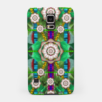 Miniatur pearl flowers in the glowing forest Samsung Case, Live Heroes