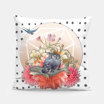 Miniatur ANIMAL PYRAMID Pillow, Live Heroes