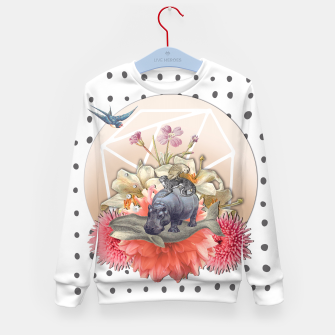 Miniatur ANIMAL PYRAMID Kid's Sweater, Live Heroes
