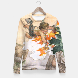 Miniatur JUDGMENT MAJOR ARCANA Fitted Waist Sweater, Live Heroes