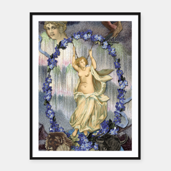 Thumbnail image of THE WORLD MAJOR ARCANA Framed poster, Live Heroes