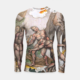 Thumbnail image of JUDGMENT MAJOR ARCANA Longsleeve Rashguard , Live Heroes