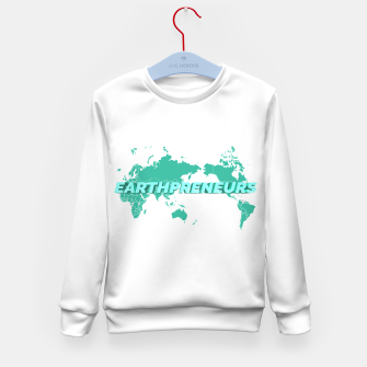 Miniatur Earthpreneur x Kid's Sweater, Live Heroes