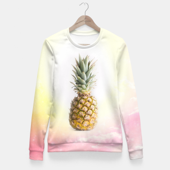 Thumbnail image of Pineapple Fitted Waist Sweater, Live Heroes