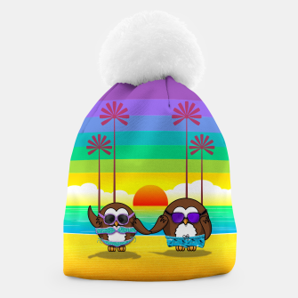 Miniaturka owls are back to vacation Beanie, Live Heroes