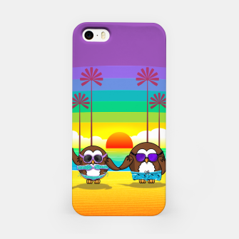 Miniaturka owls are back to vacation iPhone Case, Live Heroes