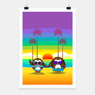 Miniaturka owls are back to vacation Poster, Live Heroes