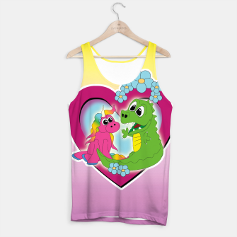 Miniatur very best friends Tank Top, Live Heroes