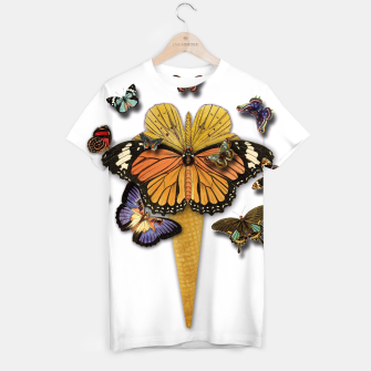 Thumbnail image of BUTTERFLIES ICE CREAM  T-shirt, Live Heroes