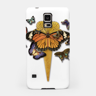 Thumbnail image of BUTTERFLIES ICE CREAM  Samsung Case, Live Heroes