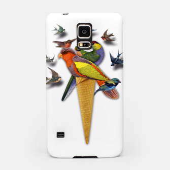 Thumbnail image of BIRDS ICE CREAM  Samsung Case, Live Heroes