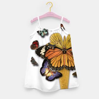 Thumbnail image of BUTTERFLIES ICE CREAM  Girl's Dress, Live Heroes