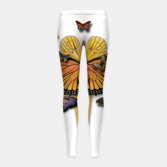 Thumbnail image of BUTTERFLIES ICE CREAM  Girl's Leggings, Live Heroes