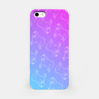 Vaporwave Pug iPhone Case miniature