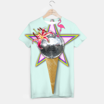 Thumbnail image of DISCO ICE CREAM T-shirt, Live Heroes