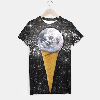 Thumbnail image of MOON ICE CREAM T-shirt, Live Heroes