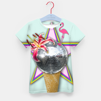 Thumbnail image of DISCO ICE CREAM Kid's T-shirt, Live Heroes