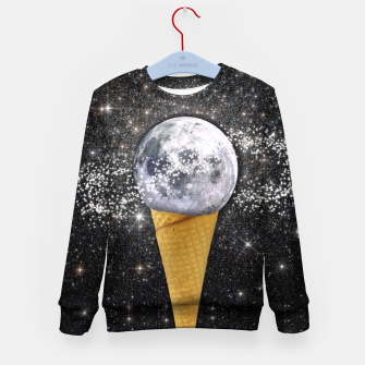 Thumbnail image of MOON ICE CREAM Kid's Sweater, Live Heroes