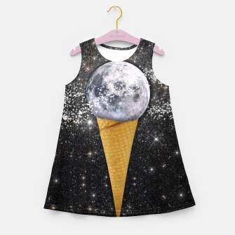 Thumbnail image of MOON ICE CREAM Girl's Summer Dress, Live Heroes