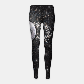 Thumbnail image of MOON ICE CREAM Girl's Leggings, Live Heroes