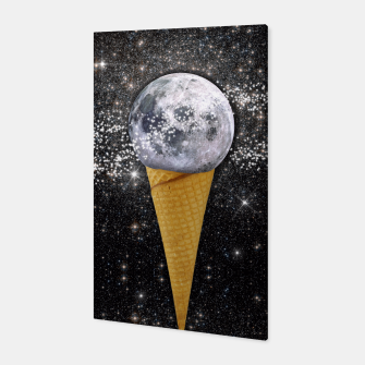 Thumbnail image of MOON ICE CREAM Canvas, Live Heroes