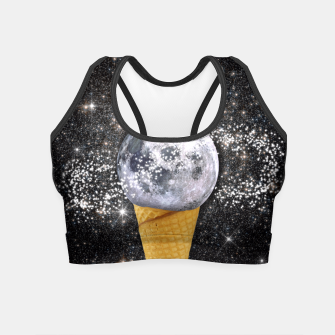 Thumbnail image of MOON ICE CREAM Crop Top, Live Heroes