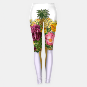 Thumbnail image of PINNEAPLE ICE CREAM  Leggings, Live Heroes