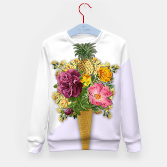 Thumbnail image of PINNEAPLE ICE CREAM  Kid's Sweater, Live Heroes