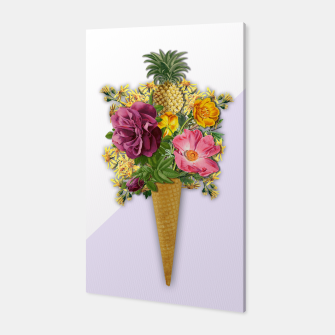 Thumbnail image of PINNEAPLE ICE CREAM  Canvas, Live Heroes