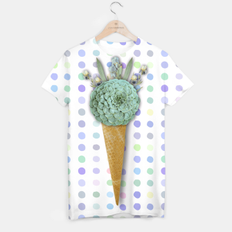 Thumbnail image of SUCCULENT ICE CREAM T-shirt, Live Heroes