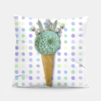 Thumbnail image of SUCCULENT ICE CREAM Pillow, Live Heroes