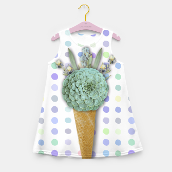 Thumbnail image of SUCCULENT ICE CREAM Girl's Summer Dress, Live Heroes