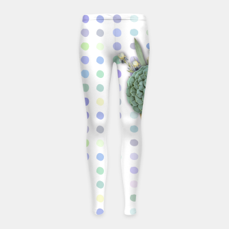 Thumbnail image of SUCCULENT ICE CREAM Girl's Leggings, Live Heroes