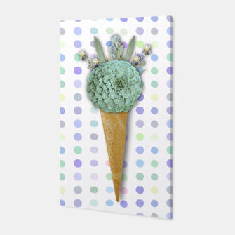 Thumbnail image of SUCCULENT ICE CREAM Canvas, Live Heroes
