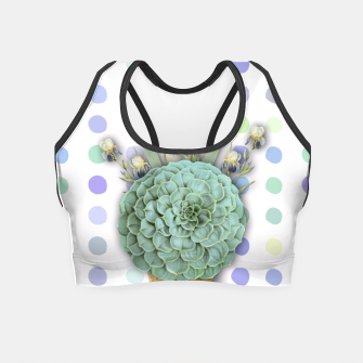 Thumbnail image of SUCCULENT ICE CREAM Crop Top, Live Heroes