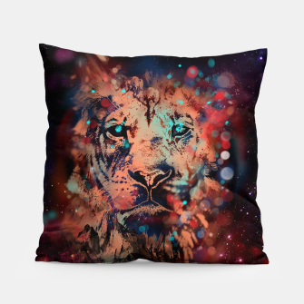 Thumbnail image of LION WHISPERER Pillow, Live Heroes