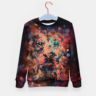 Thumbnail image of LION WHISPERER Kid's Sweater, Live Heroes