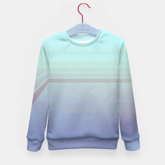 Thumbnail image of Horizontal flight (Blue edition)  Kid's Sweater, Live Heroes