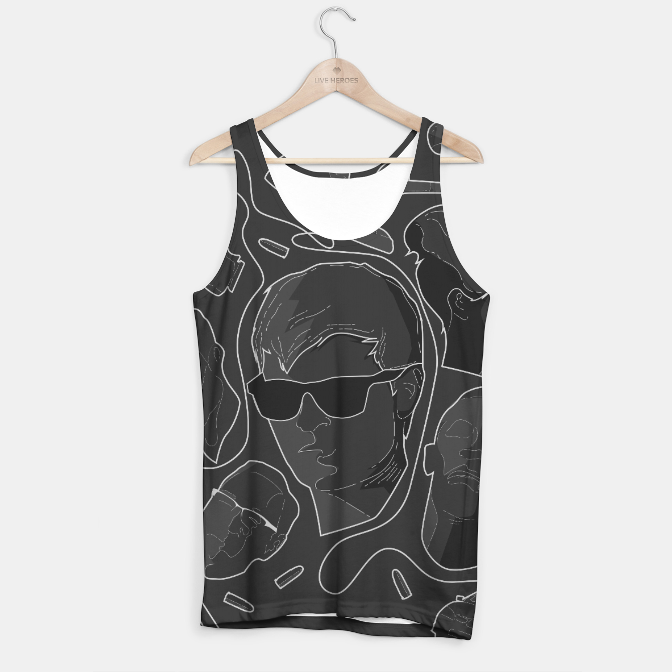 Image of Baby Driver Tank Top - Live Heroes