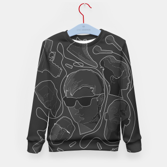 Thumbnail image of Baby Driver Kid's Sweater, Live Heroes