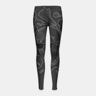 Thumbnail image of Baby Driver Girl's Leggings, Live Heroes