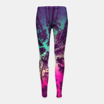 Just a stargazer Girl's Leggings obraz miniatury