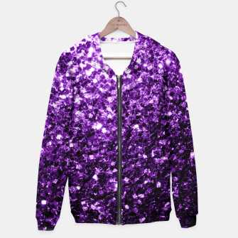 Miniaturka Beautiful Dark Purple glitter sparkles Hoodie, Live Heroes