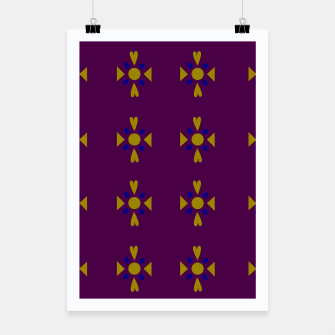 Thumbnail image of Designers poster : MOROCCO PURPLE BLUE, Live Heroes