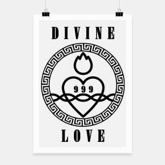 Thumbnail image of HOLY Brand: Divine Love  Poster, Live Heroes