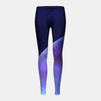 Thumbnail image of Secrets of the galaxy Girl's Leggings, Live Heroes