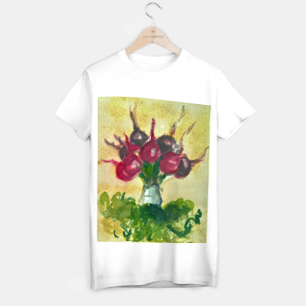 Thumbnail image of Updown vegetable bouquet downup taba T-shirt regular, Live Heroes